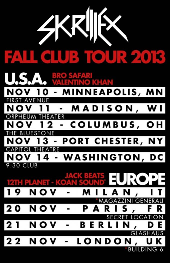 skrillex-fall-club-tour