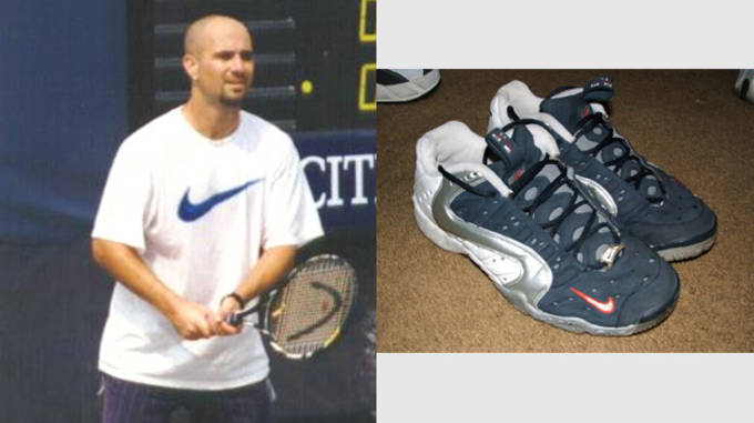 Andre Agassi's 10 Most Influential Nike Tennis Sneakers