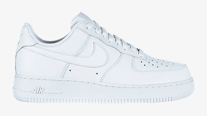 new concept 9bf1c f5235 Image via Nike. The history of the Air Force 1 ...