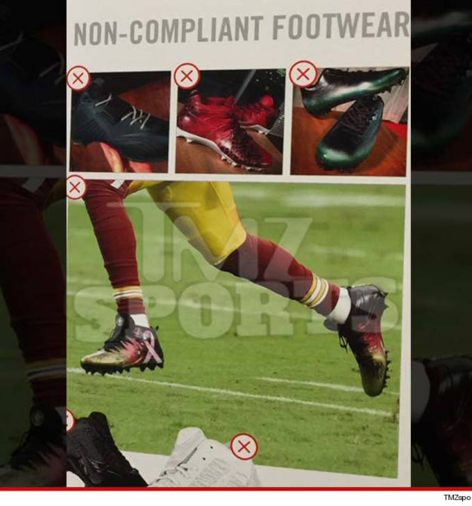 Nike Threatens to Cut Endorsement Deals of NFL Players Who Customize ... 89d88ca5f