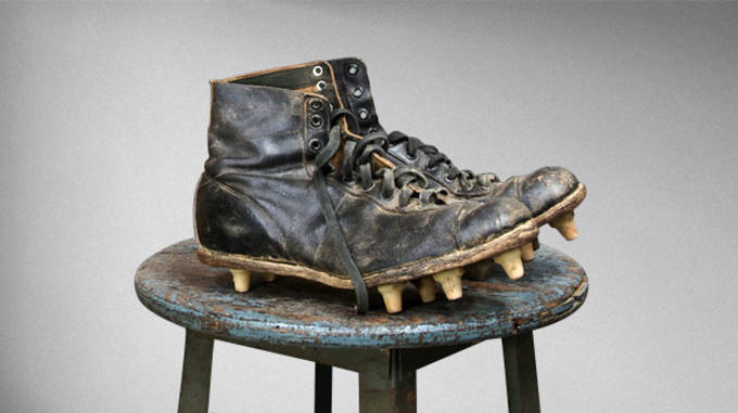 best loved 4f819 774a9 The Surprising and Unexpected Evolution of Football Cleats   Complex