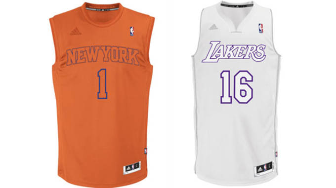 Christmas Jerseys.Taking A Look Back At Nba Uniforms Of Christmas Past And