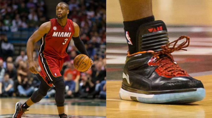 Dwyane Wade in the LiNing Way of Wade Encore
