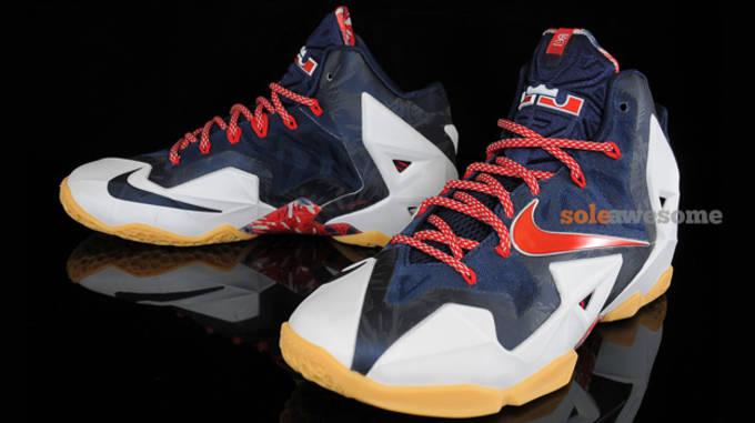 "Nike LeBron 11 ""independence day"""