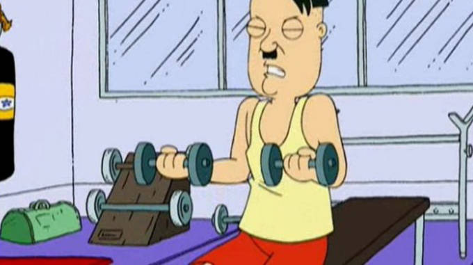 family guy working out