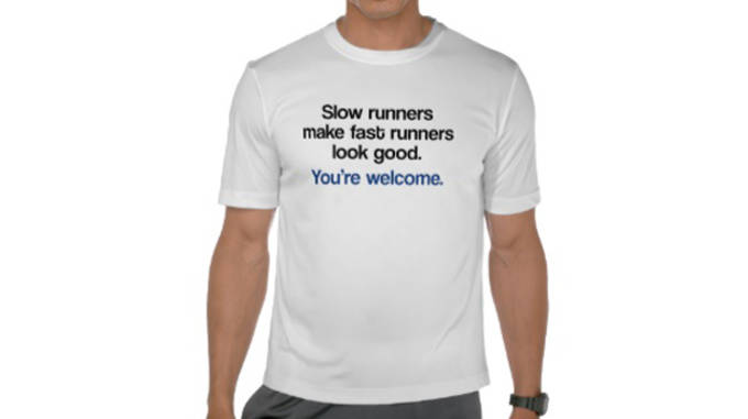 slow runners make fast runners...