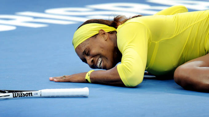 Serena Injured