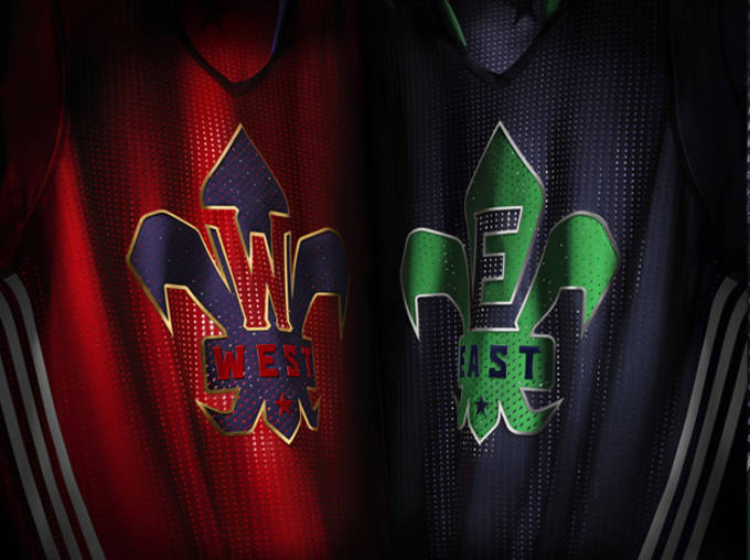 adidas NBA All-Star Jersey EAST WEST Detail copy