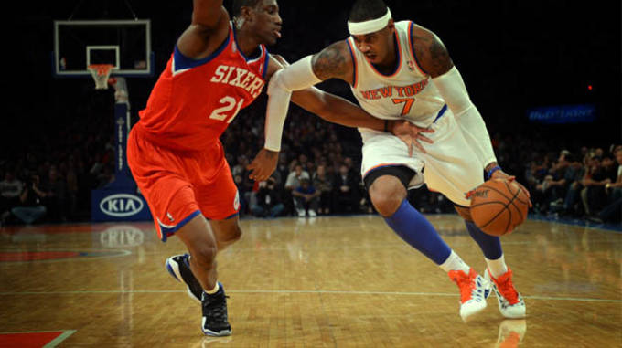d93b58a8692f Carmelo Anthony s road to the forefront of the NBA has been filled with ups  and downs