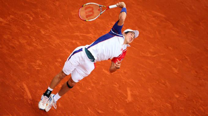 French Open outfit Kei Nishikori