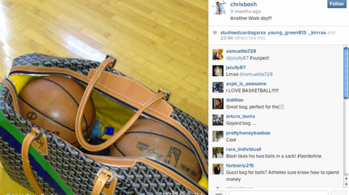 chris bosh instagram