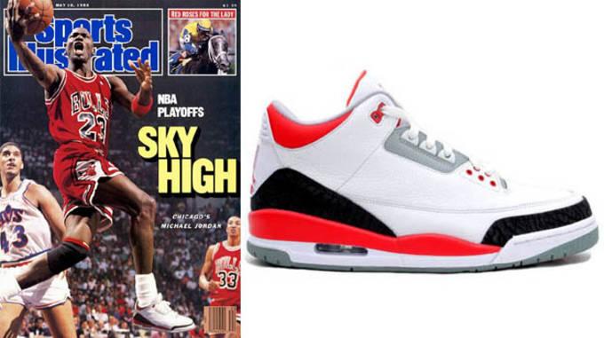 Michael Jordan in the Air Jordan 3