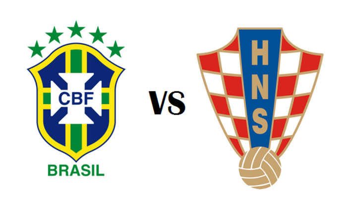Brasil vs Croatia