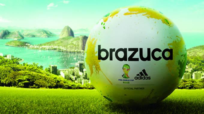 2014 FIFA World Cup Brazil adidas Brazuca