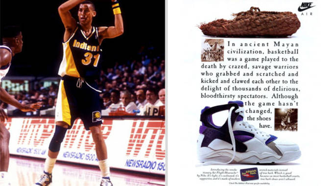 Reggie Miller Nike Air Flight Huarache