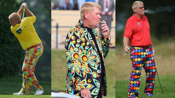 John Daly Worst Golf Outfits
