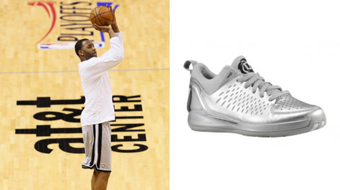 Tracy McGrady in the adidas Rose 3 Low