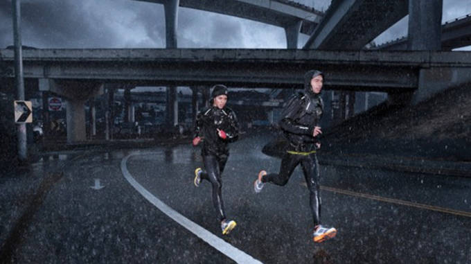 Nike winter running