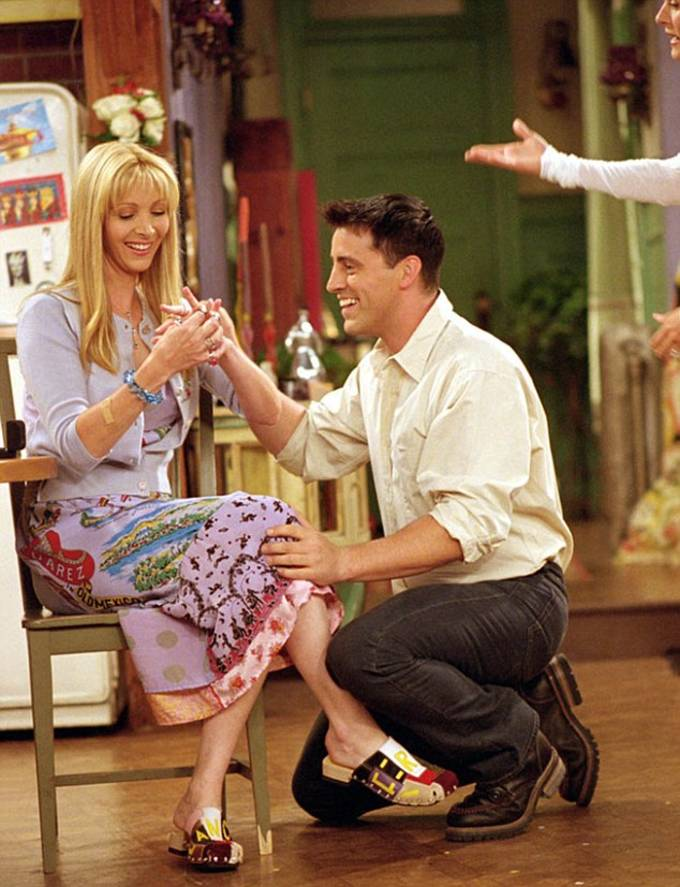 Lisa Kudrow and Matt LeBlanc