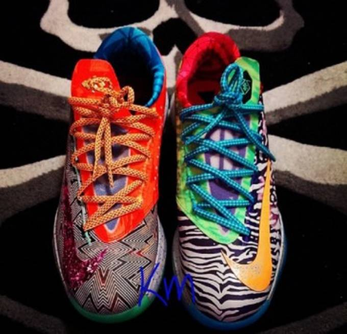 online store 2b5bc fd75d Nike KD 6 What The KD