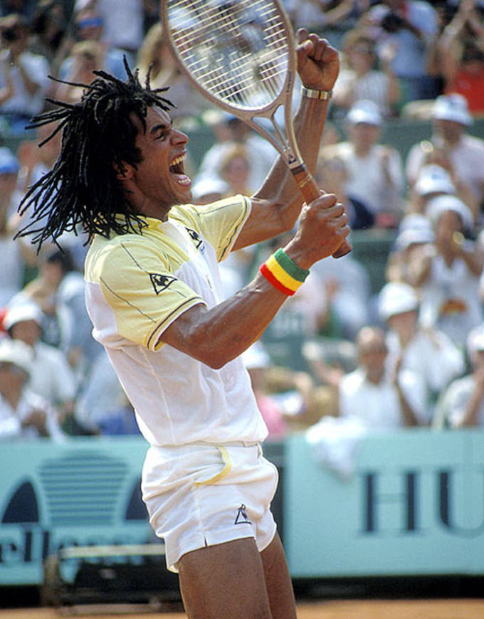 French Open outfit Yannick Noah 1