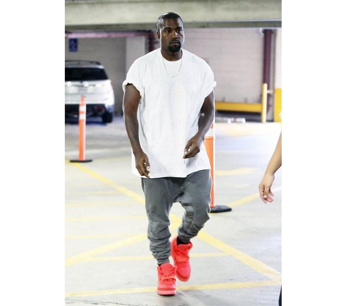 6345b5ac87d33 Kanye West Wearing