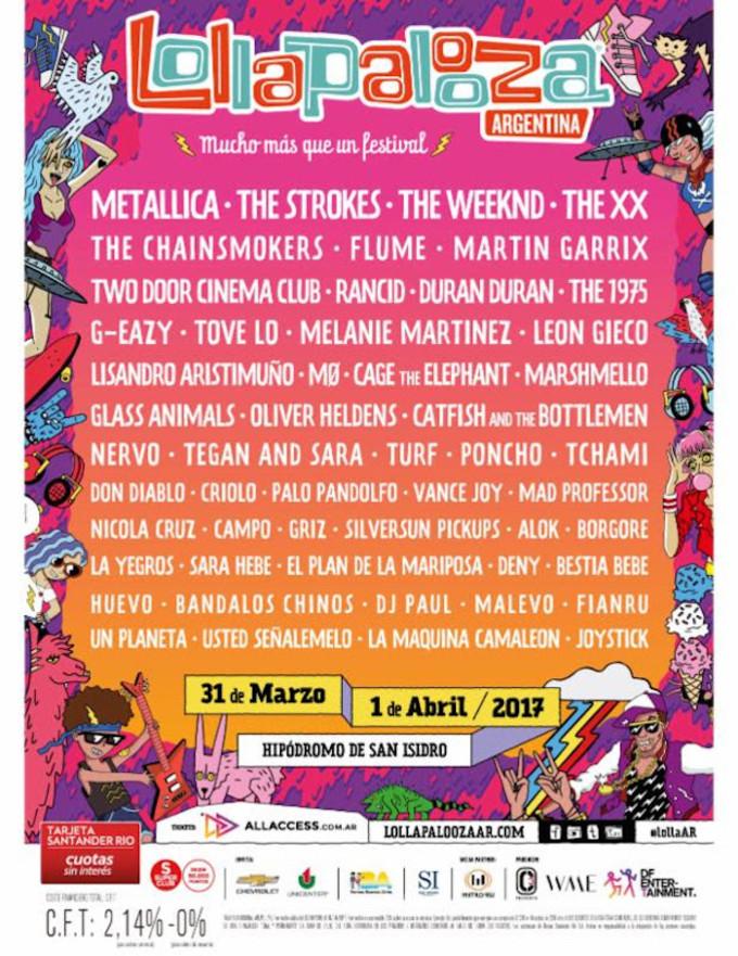 Lollapoolza Argentina
