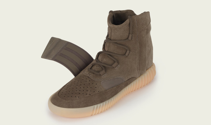 Chocolate Yeezy 750 Unstrapped