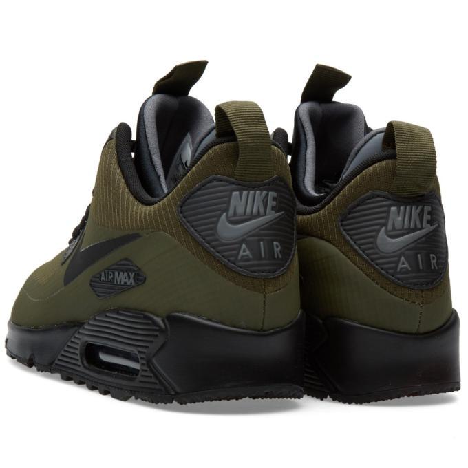 Nike Air Max 90 Mid Winter Black Squadron Blue & Nike