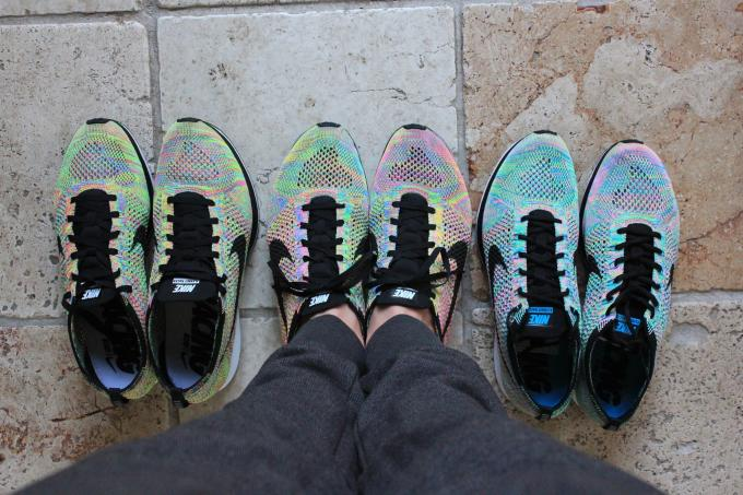 differently 3d5cc eb604 Nike Flyknit Racer
