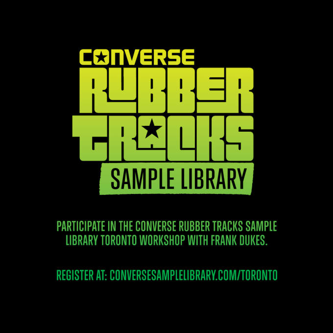 Frank Dukes To Host Producer Sample Library Workshop This Weekend ...