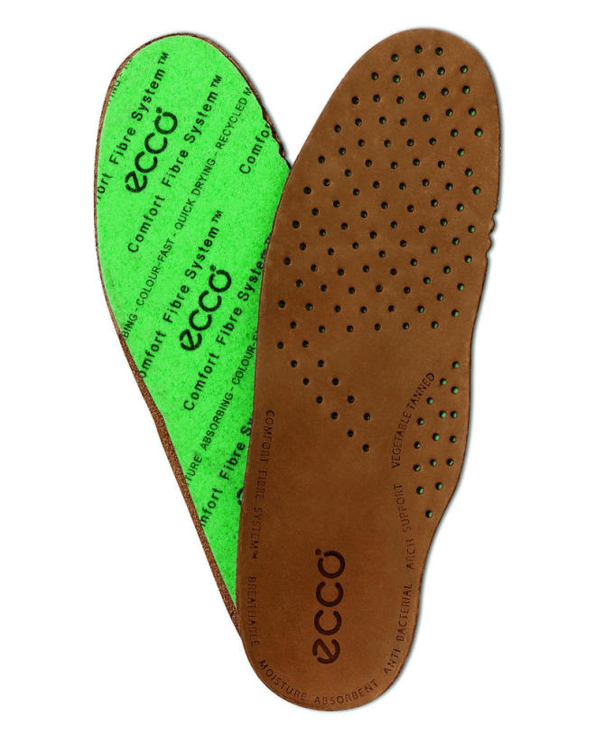 Breathable soles will give your feet some air flow while your about town/ via Ecco