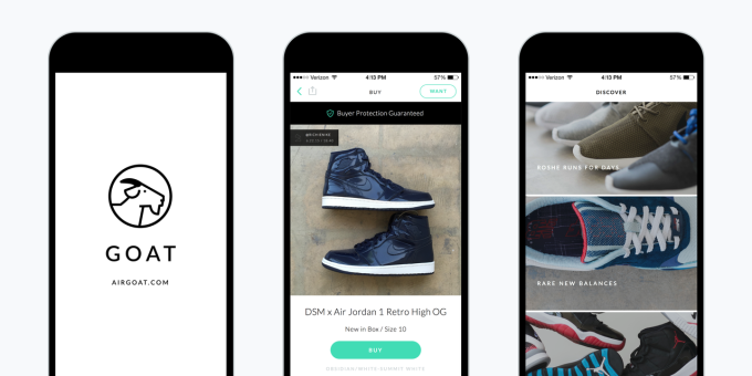quality design aaddd fbb7c Buy Sneakers Safely with the GOAT iOS App   Complex