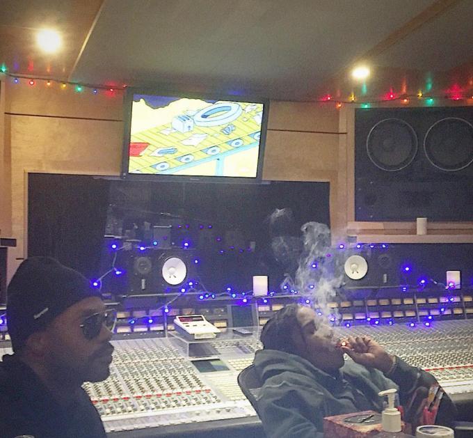 Juicy J And ASAP Rocky Studio Image