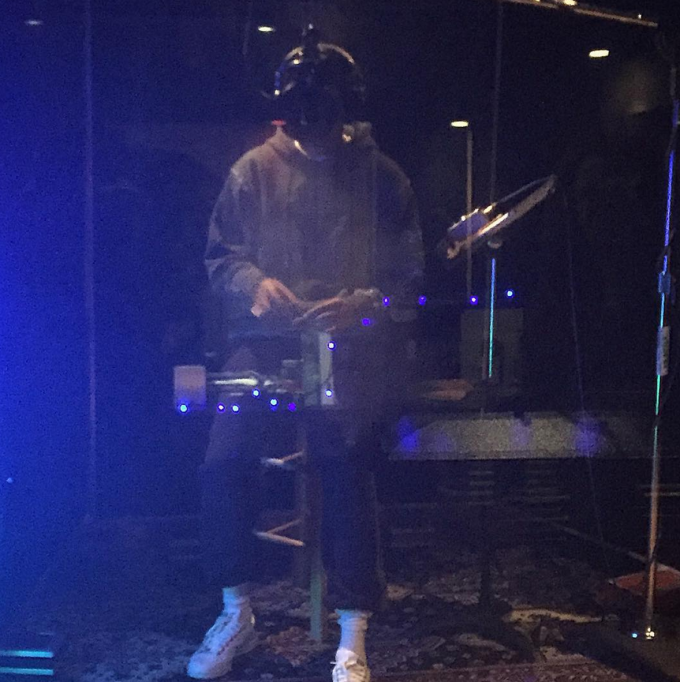 Juicy J In the Recording Booth