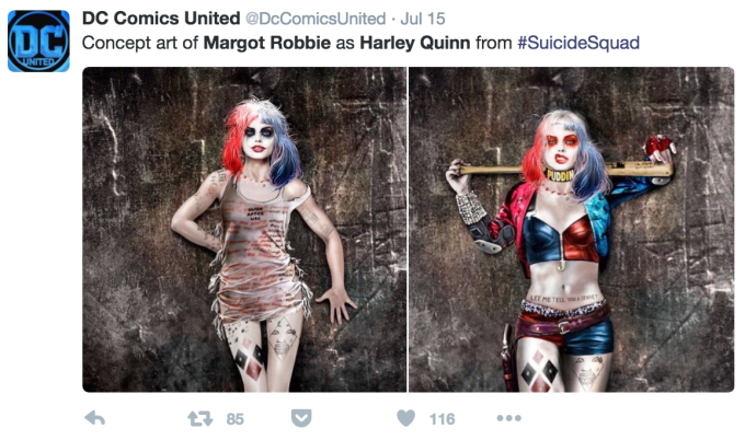 Suicide Squad Costume Designer Shares Her Concept Art For