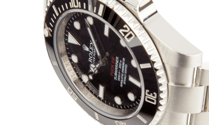 44019f6504c Here s Your Chance to Cop the Rare Supreme x Rolex Submariner Watch ...