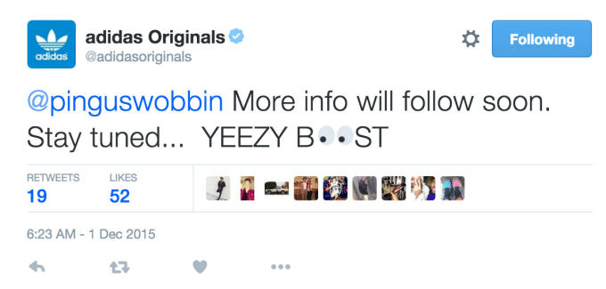 b436008b2dda8 adidas Confirms There s No Yeezy Boost Release on December 5