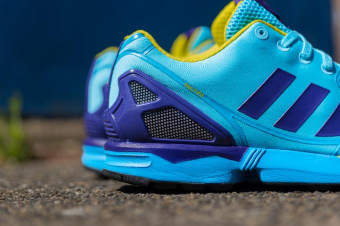 Adidas ZX Flux Weave OG Aqua Release Date - Sole U