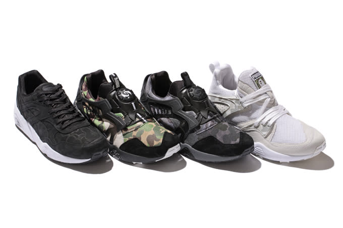 80d24195aa19 BAPE x PUMA Fall Winter 2015 Collaboration