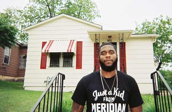 Big K.R.I.T. in his hometown of Meridian, Mississippi