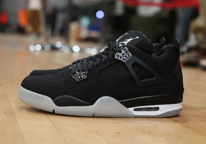 a6d8caf0a45 The Eminem x Carhartt x Air Jordan IV Was Spotted at Sneaker Con DC ...