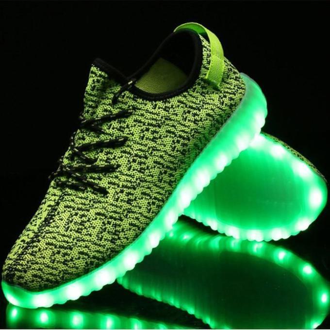 light up yeezys real