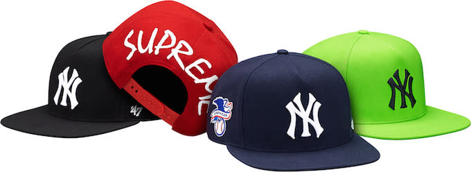 4ccc8cf6 This Supreme x New York Yankees x '47 Brand Collection Is Going to ...