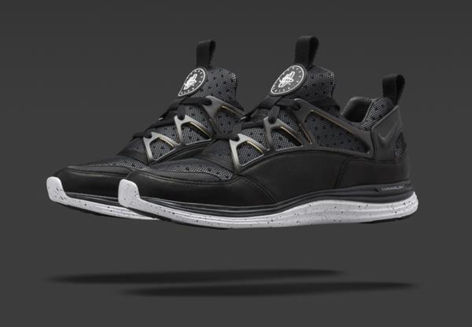 a8d5dad9a0dd7 NikeLab has just unveiled a black colorway of the forthcoming Lunar  Huarache Light. A release is also scheduled for March 12.