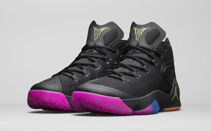 d7af83bd506 The Melo M12 arrives at the top of the year on January 2 for $160 in the  black/multi colorway highlighted here.