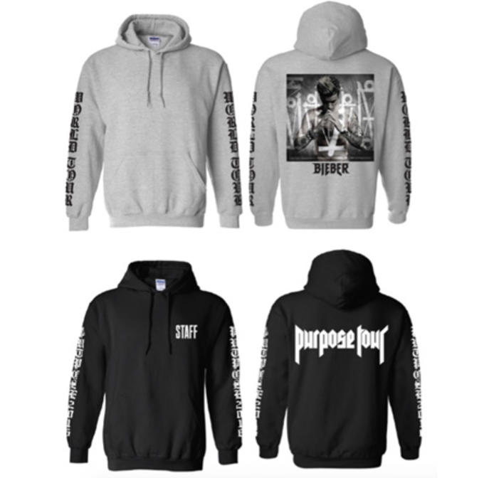 cdaf918ce Justin Bieber 'Purpose' Tour Merch Exclusive First Look | Complex