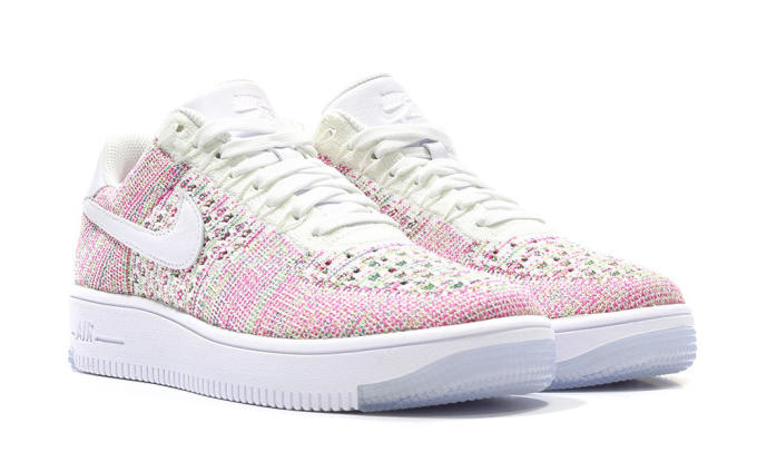 air force 1 flyknit rosa