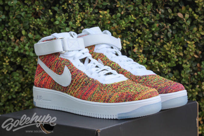 online retailer d59bc a447c The Nike Air Force 1 High Flyknit