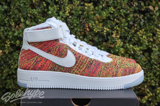 online retailer 7fdc1 db9f3 The Nike Air Force 1 High Flyknit